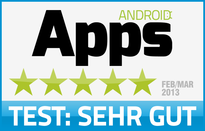 Android Apps Testsiegel