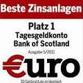 Bank of Scotland - Testsieger €uro 5/2011